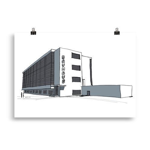 Poster 15 Bauhaus Dessau