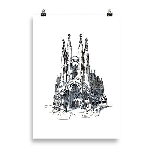 Poster 08 Sagrada Familia