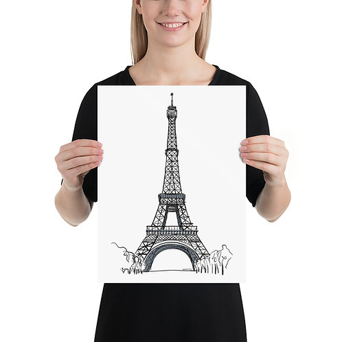Poster 14 Eiffel Tower