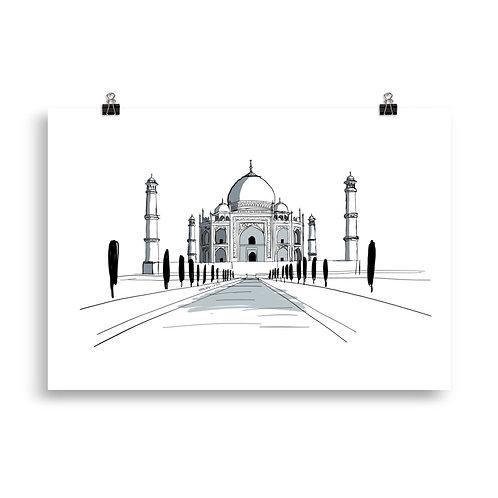 Poster 11 Taj Mahal