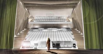 Theatre design Koblenz Interior