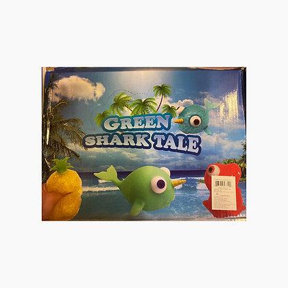 Green Shark Tale- Squishy