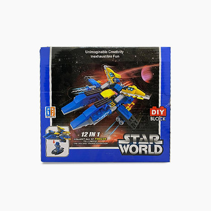 Star World- DIY Block