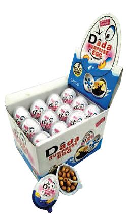 DADA Surprise Eggs- Counter Top Display