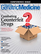 Today's Geriatric Medicine magazine cover