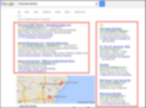 AdWords Ads Screenshot