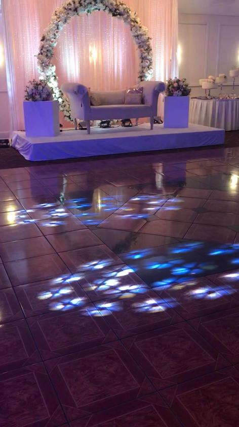CUSTOMIZED DANCE FLOOR