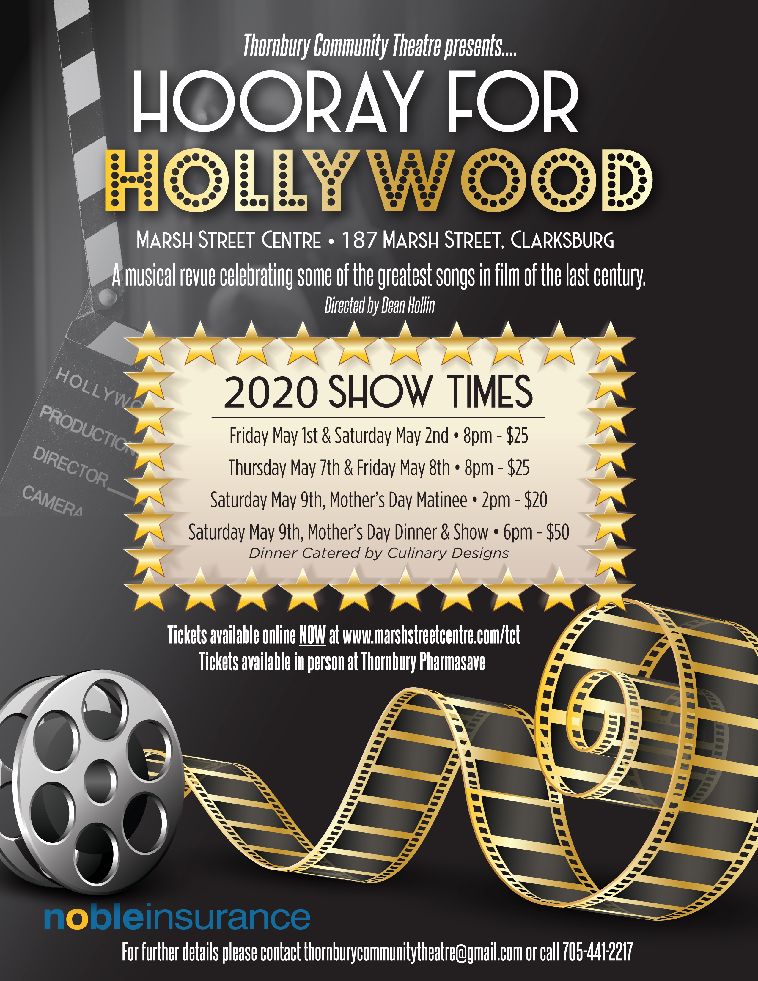 Theatre Show: Hooray for Hollywood Show #4 Friday, Nov 6 @ 8pm