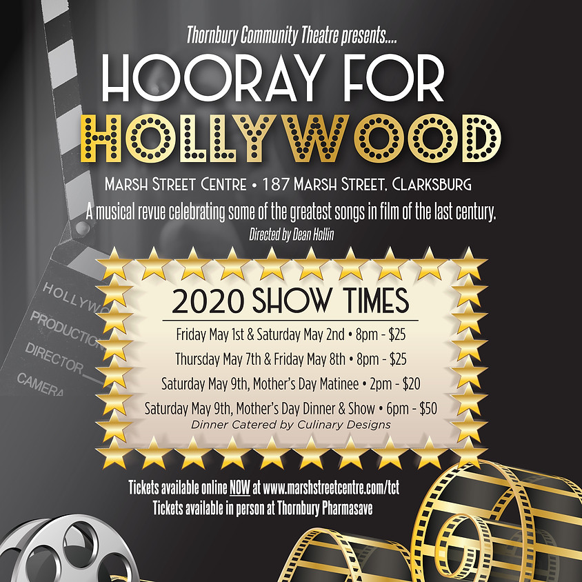 Theatre Show: Hooray for Hollywood Thursday, Nov 5 @ 8pm