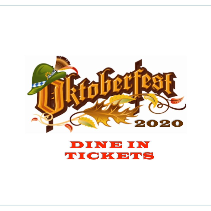 Oktoberfest 2020- Dine Under a Tent