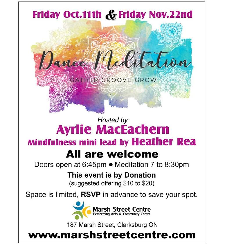 Dance Meditation - Friday, October 11