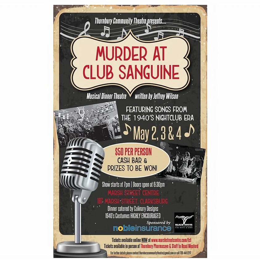 TCT Production Murder at Club Sanguine!