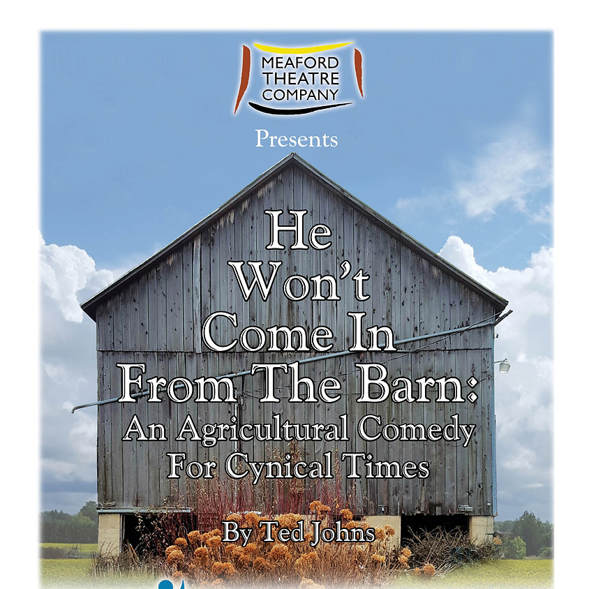 He Won't Come in From the Barn - Friday, June 8 2018