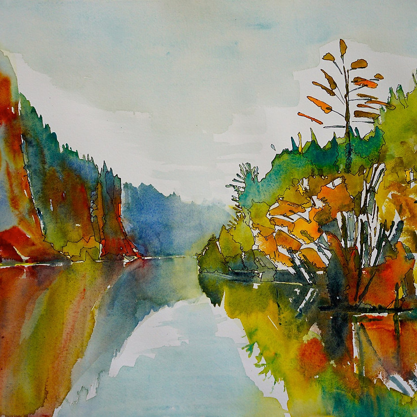 Clarksburg has h'ART - Loosen Up with Watercolours with Hilary Slater