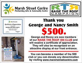 MS RTR 500 club - George and Nancy Smith