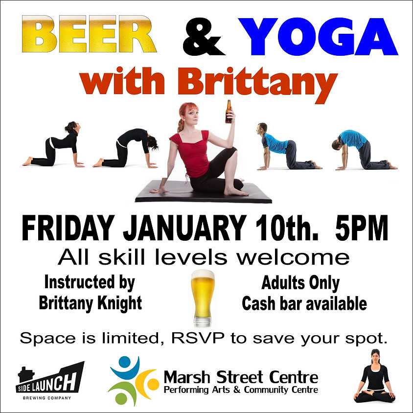 Beer and Yoga - Adults Only