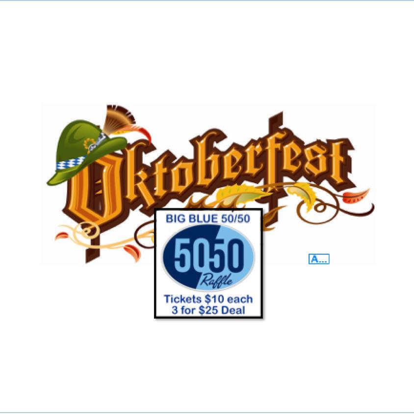 Oktoberfest 2020 - 50/50 Tickets