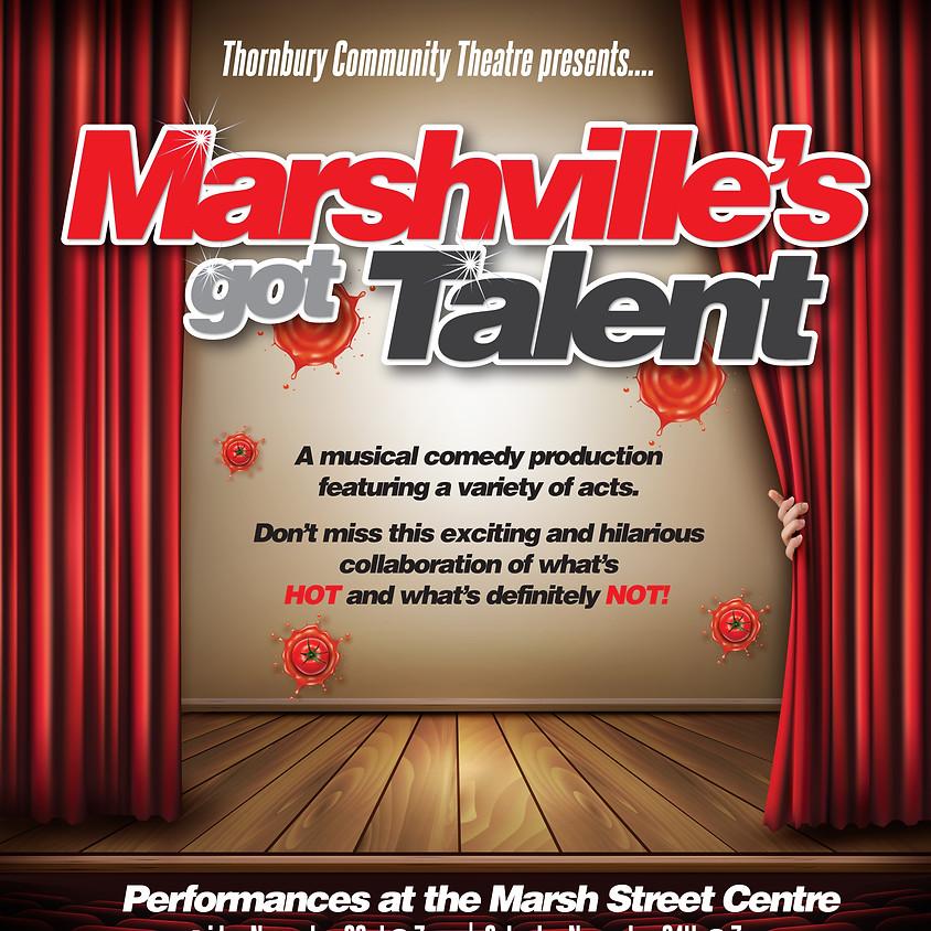Marshville's got Talent - Fri. Nov. 23 2018 7pm