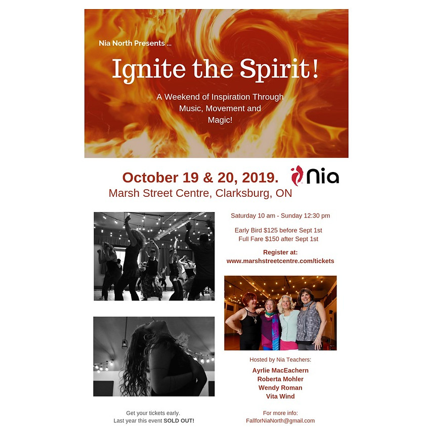 Nia North presents ... Ignite the Spirit!