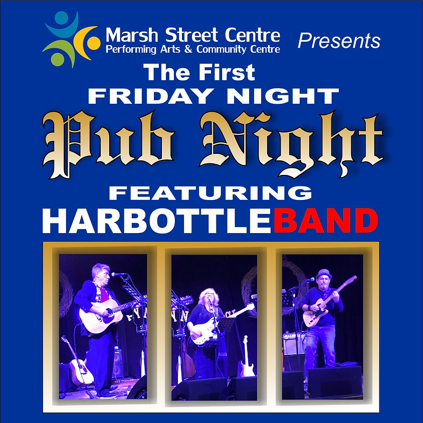 CANCELLED: Friday Night Pub Night with Harbottle Band