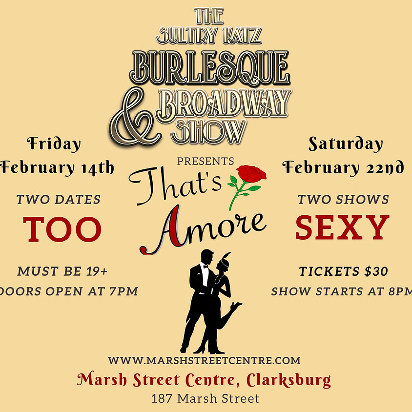 Burlesque & Broadway Show: 'That's Amore'