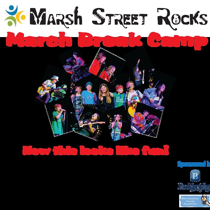 Marsh Street Rocks March Break Camp