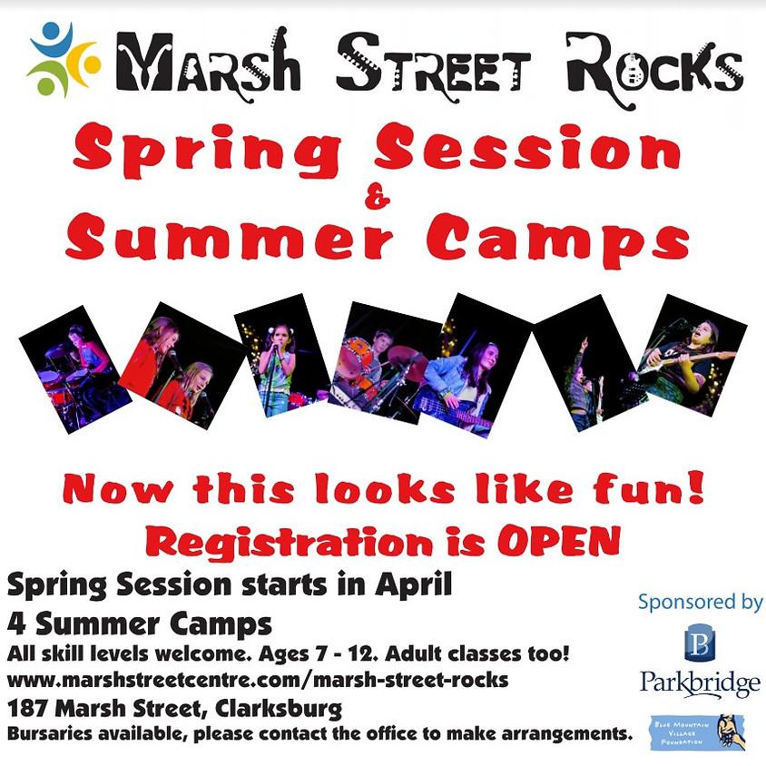 Marsh Street Rocks Spring Session