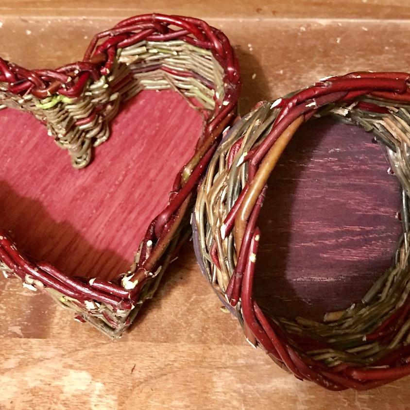 Clarksburg has h'ART - Basket Weaving with Andrea Matrosovs 11-1pm