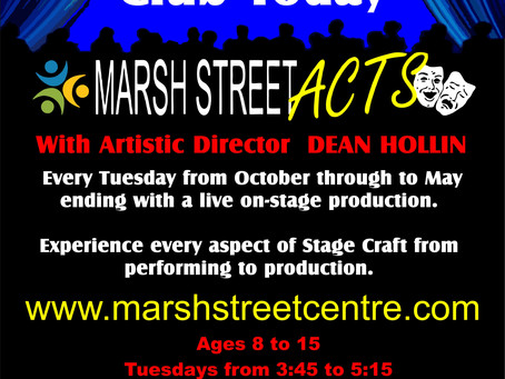 Register Now for Marsh Street Acts!