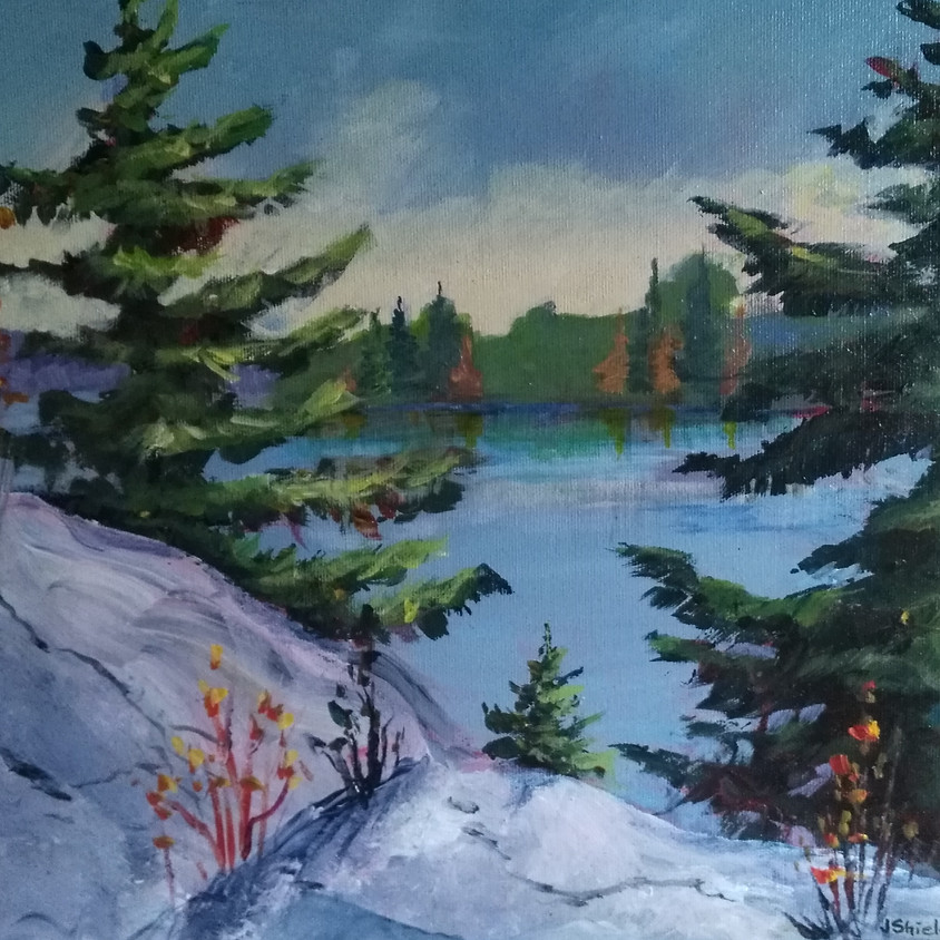 Workshop - Painting in Acrylic - Painting with Judy Shield