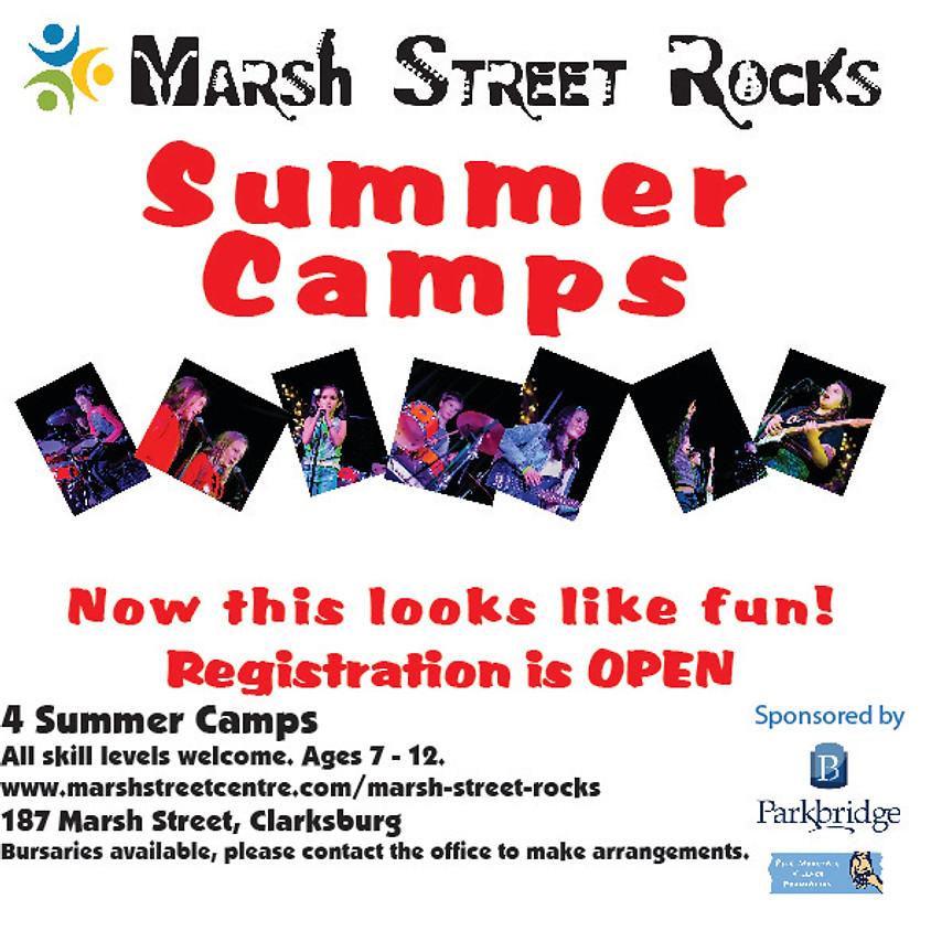 Marsh Street Rocks Summer Camp Aug 12
