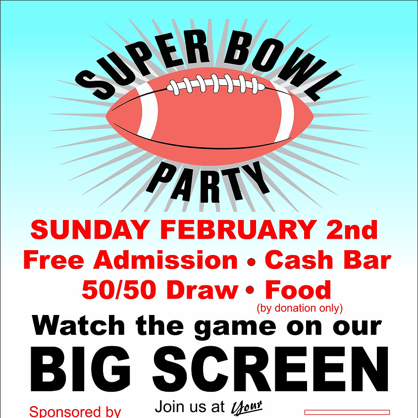 MSC Event:  Superbowl Party