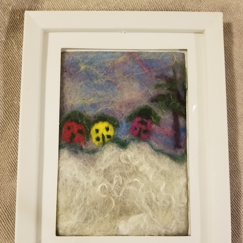 Clarksburg has h'ART - Needle Felting with Wendy Fifield 2-4pm
