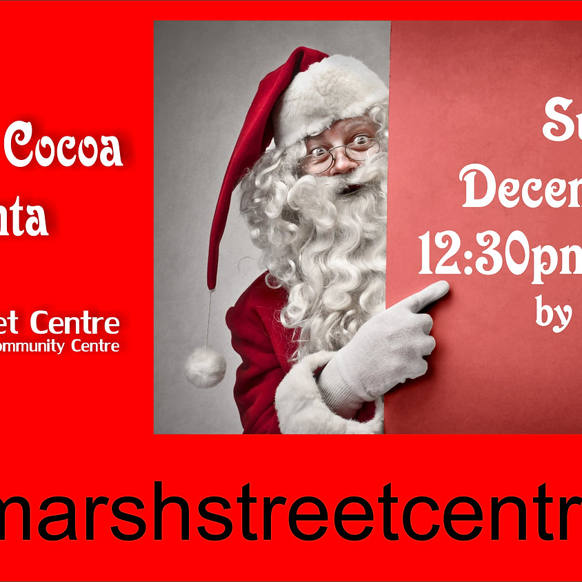 MSC Event:  Cookies & Cocoa with Santa - Free (Donations Welcome)