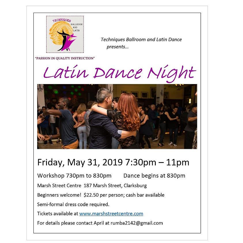 Techniques Ballroom and Latin Dance presents LATIN DANCE NIGHT!