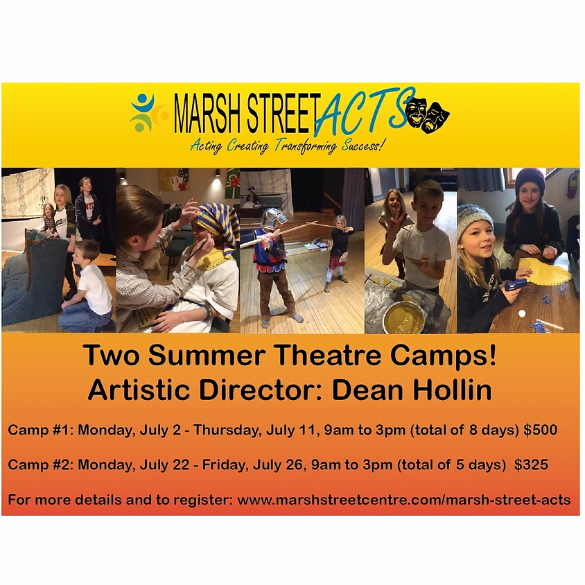 Summer Theatre Camp by Dean Hollin