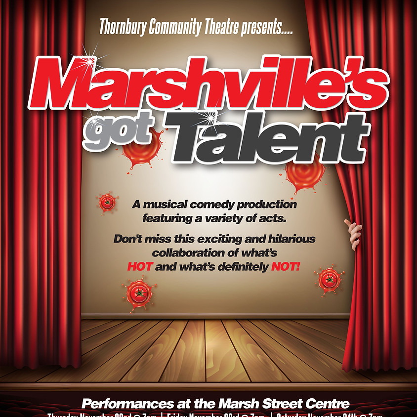 Marshville's got Talent - Thurs. Nov. 22 2018 7pm