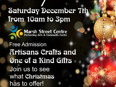 Unique Christmas Gift Sale at The Marsh - December 7