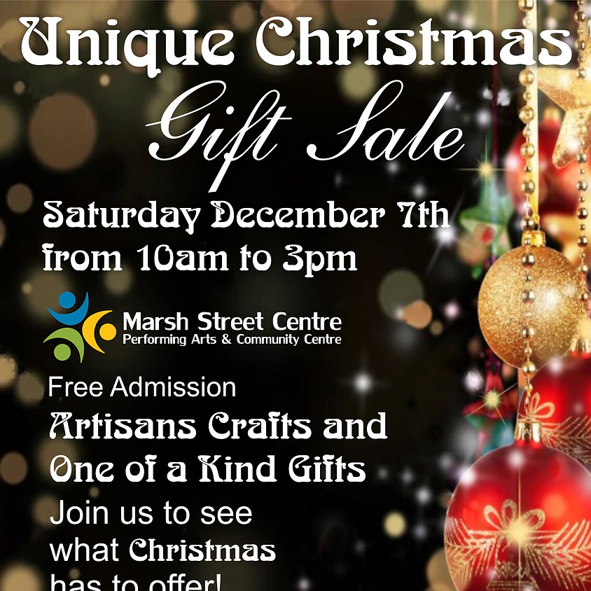 MSC Event: Christmas Gift Sale - Free (Donations Welcome)