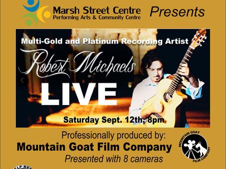 See Robert Michaels on Live Stream!