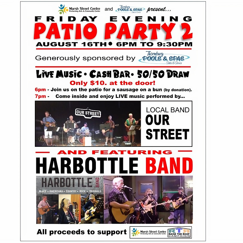 Patio Party 2 featuring Harbottle Band