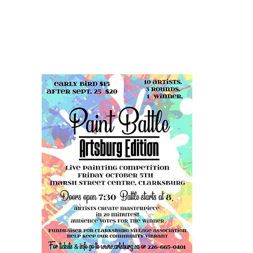 Artsburg Paint Battle Friday, October 5th 2018