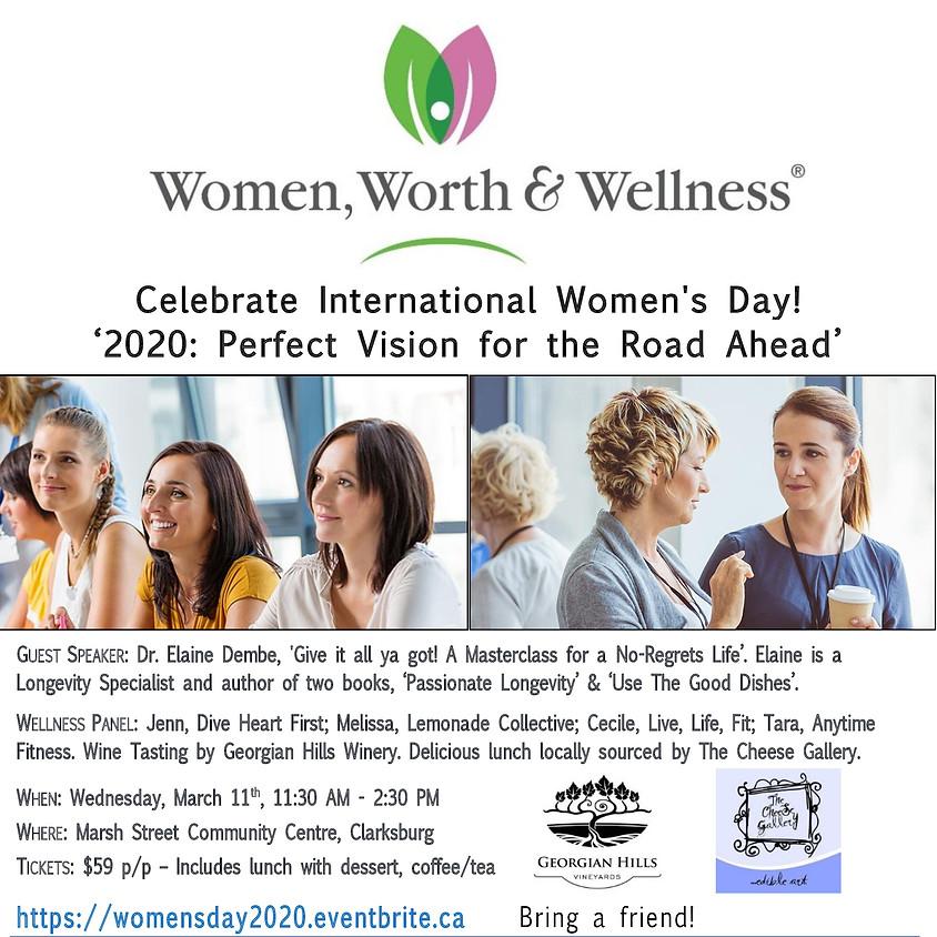 Women, Worth & Wellness - Celebrate International Women's Day