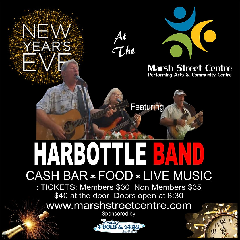 MSC Party:  New Year's Eve with Harbottle Band