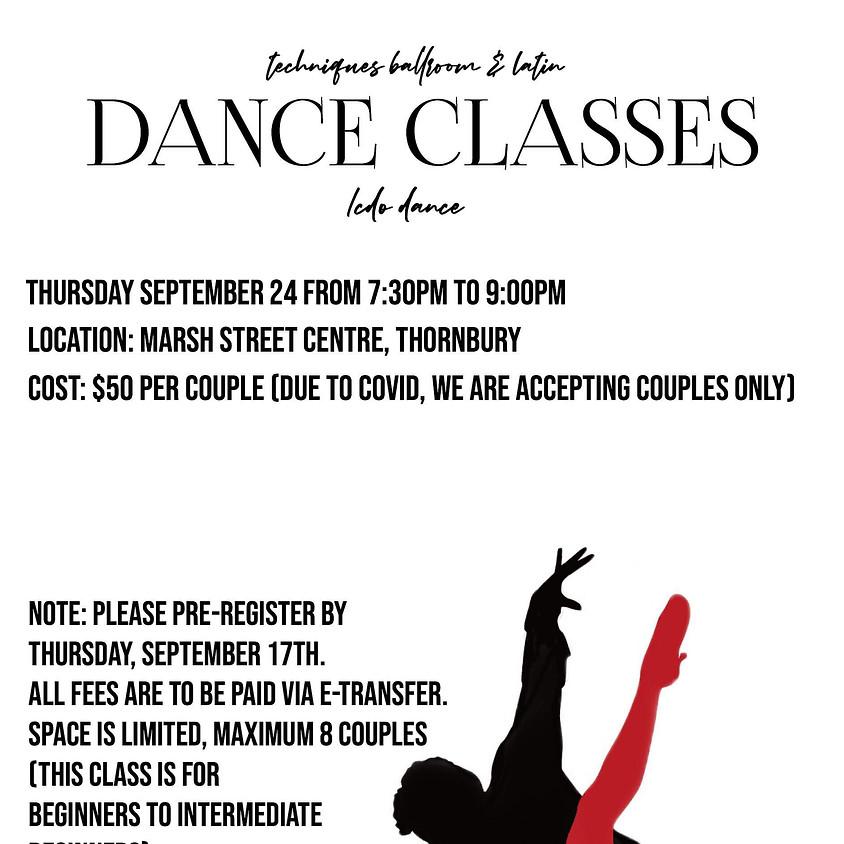 Ball Room & Latin Dance Lessons
