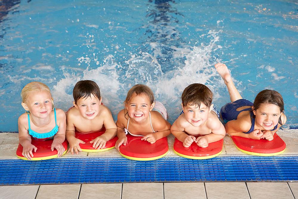 Kinderschwimmkurs Schwimmbad Oberau