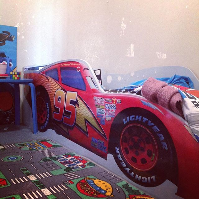 Why stay at the resort when you can sleep in a race car bed instead