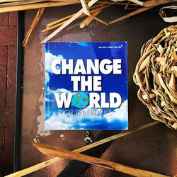 """This is my new project_""""Change the world for ten bucks""""_A couple of years ago I started another pers"""
