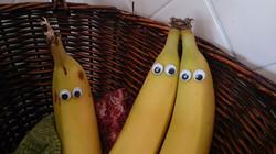 Googley eyed bananas