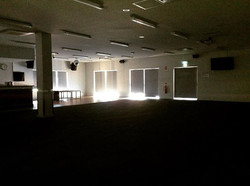 A happy sad moment as we turn out the lights after our last session of Every Ability Laughter Yoga i